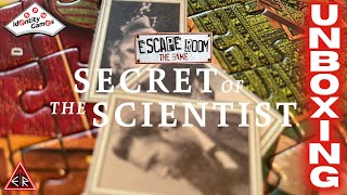"""🆄🅽🅱🅾🆇🅸🅽🅶 - """"Escape Room The Game - Secret of the Scientist"""" by Identity Games!!! 🔍 🔍 🔍  🧩 🧩 🧩"""