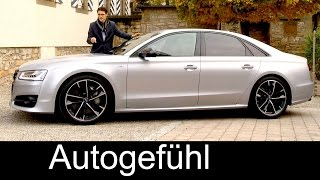 THE AUTHORITY: New Audi S8 Plus FULL REVIEW V8 605 hp test driven - Autogefuehl
