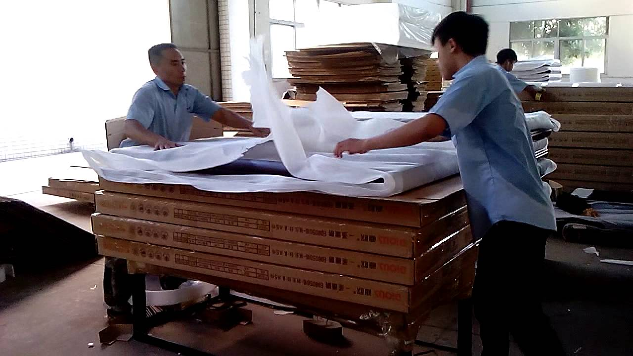 packing process zhongshan dious furniture industry co , ltd - youtube