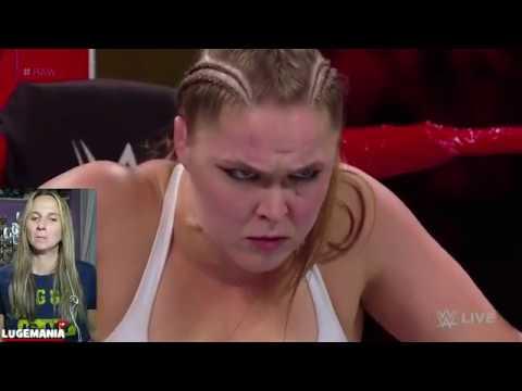 WWE Raw 8/6/18 Ronda Rousey vs Alicia Fox