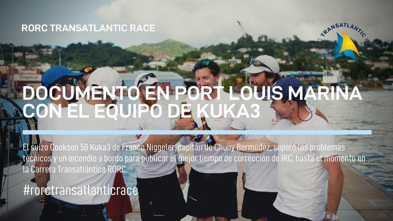 2018 RORC TRANSATLANTIC RACE KUKA3 ACABADO (ESP)