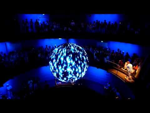 Shanghai EXPO 2010 - German Pavilion: Interactive Metal Ball