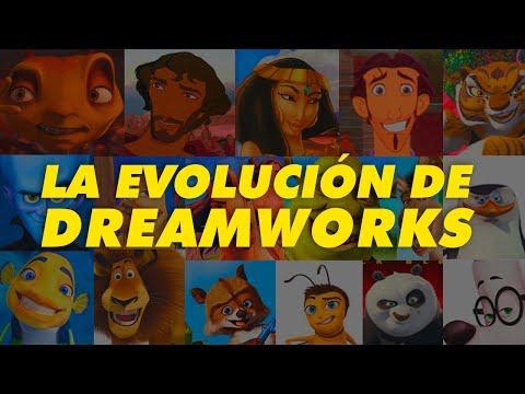 La Evolucion de Dreamworks Animation (1998-2017)