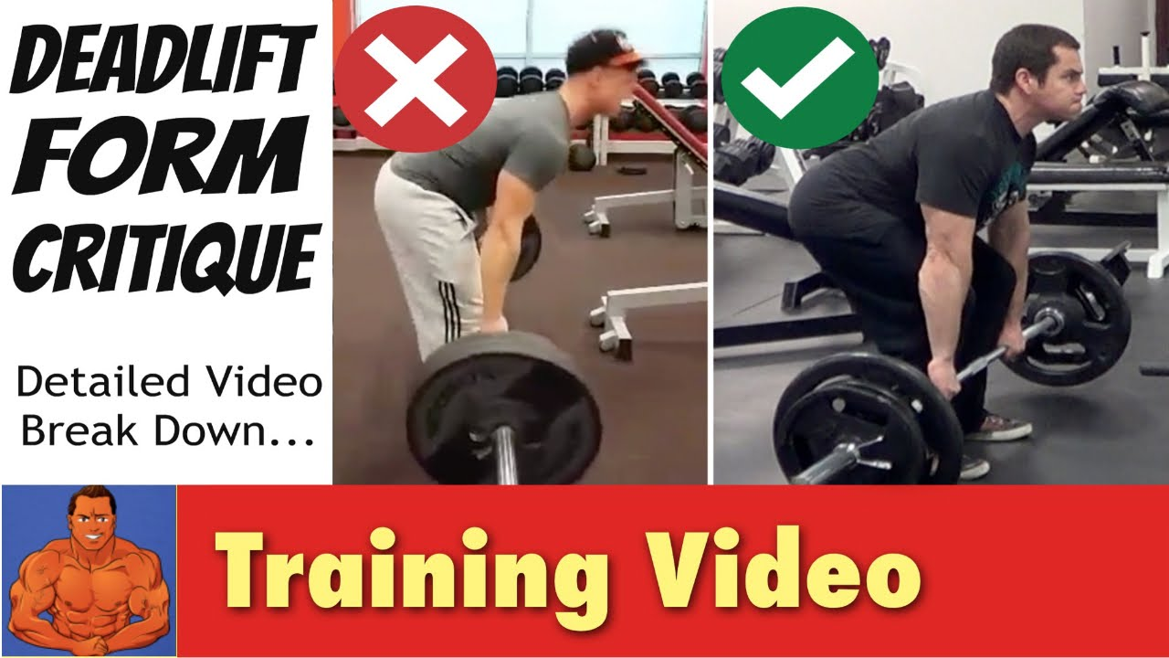 Deadlift Form Critique - detailed video breakdown... - YouTube