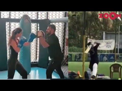 Disha tries to learn Butterfly Kick   Saqib Saleem trains for 83 the film starring Ranveer Singh Mp3