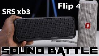 JBL Flip 4 vs Sony SRS XB3 :SoundBattle -The real sound comparison (Binaural Recording)