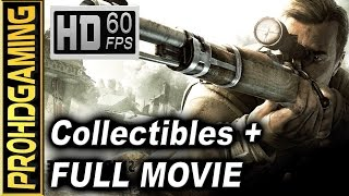 Sniper Elite V2 (PC) - All Collectibles Guide - Full Movie  - Jungle Juice/Gold Rush Trophy - 60fps
