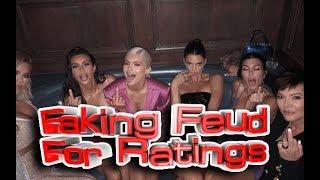 Kim, Kourtney and Khloe Kardashian: Faking Feud For Ratings!! [Shocking Details]