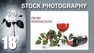 18. Stock Photo Сток  Тема: Как сфотографировать чисто немецкий рождественский натюрморт