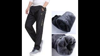 Распаковка и обзор товаров (посылок) из Китая # 54. Брендовые мужские шерстяные зимние брюки.