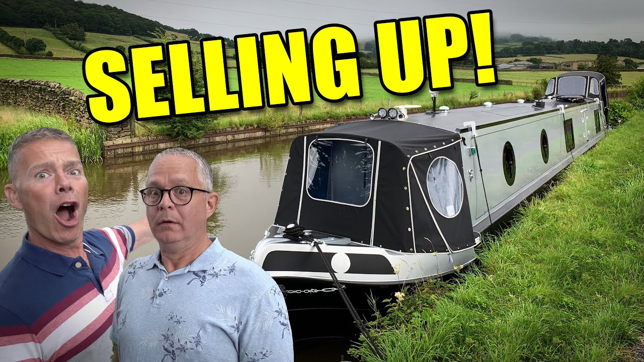 Packing up! Why We're Selling Our Narrowboat.