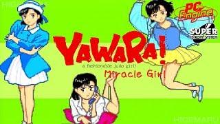 YAWARA! Opening : Yawara! a fashionable judo girl!. Opening. PC-Engine.Real Hardware