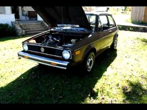 1977 Vw Rabbit Diesel Youtube