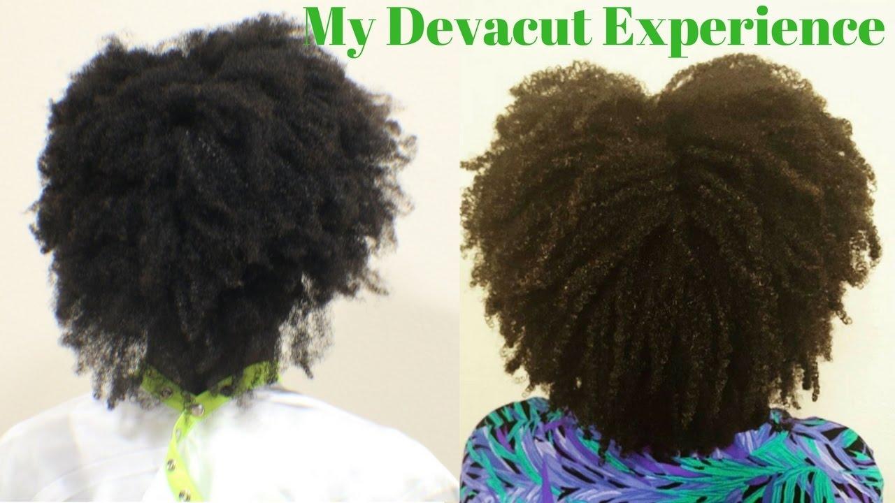 I Got A Devacut On Type 4 Hair