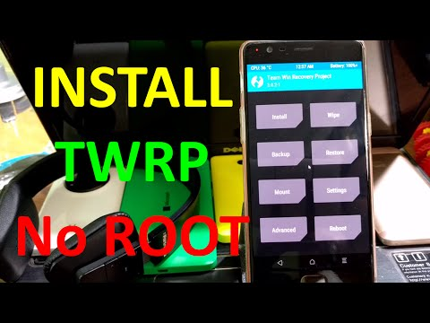 how to install twrp recovery on any android without root