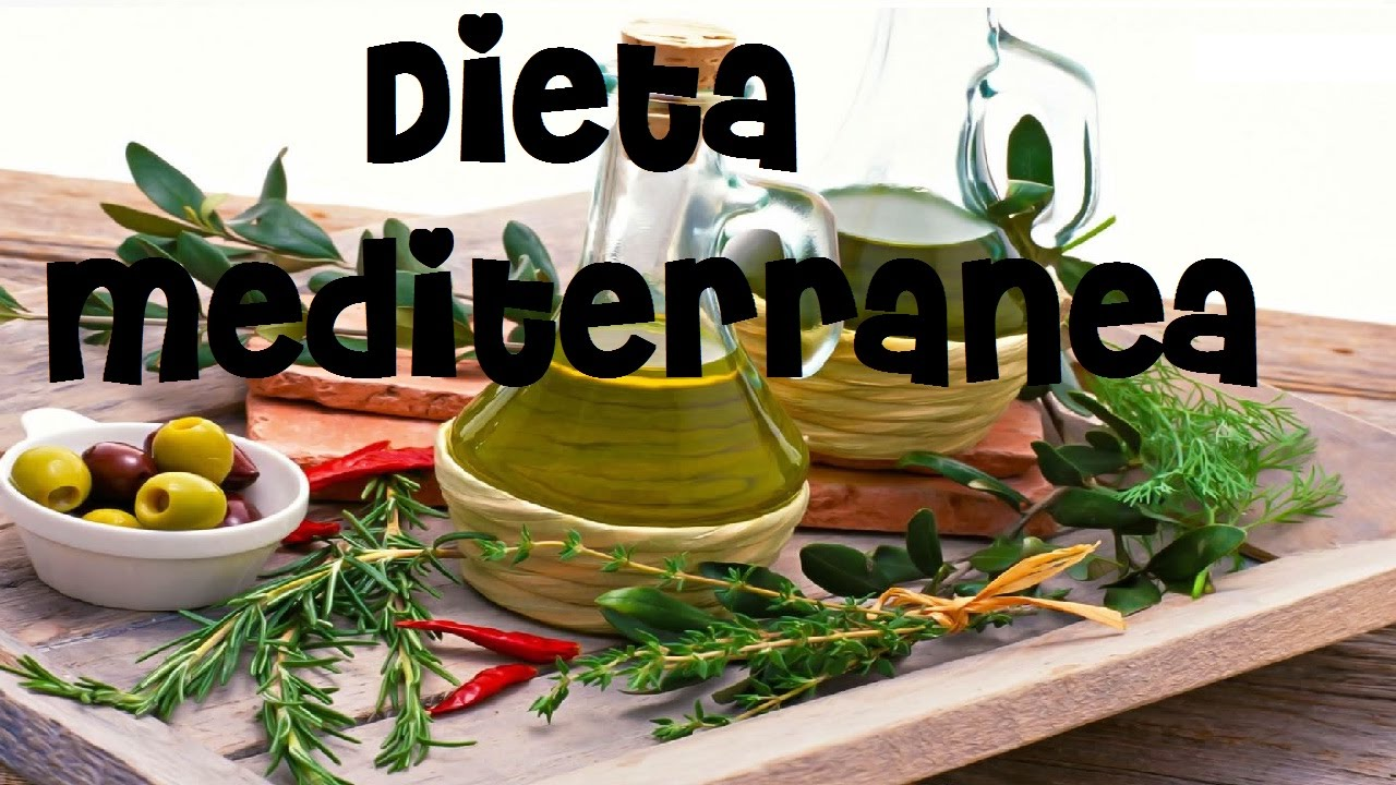 dieta mediterranea para toda la semana
