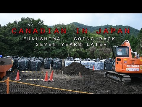 Fukushima - 7 Years Later | Driving Through Fukushima | Fukushima Nuclear Disaster  | Japan
