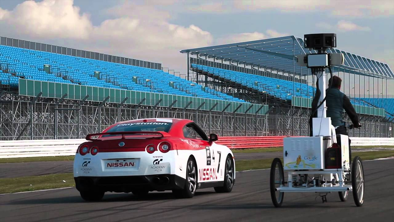 Google Street View comes to Silverstone\'s Grand Prix Circuit! - YouTube