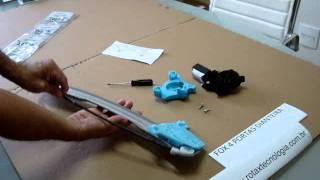 Conserto Máquina Vidro Elétrico FOX VW 4 portas
