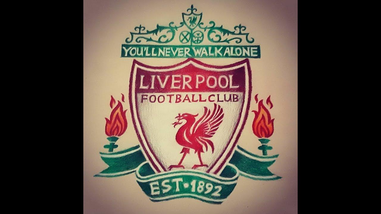 Liverpool Fc Logo Drawing