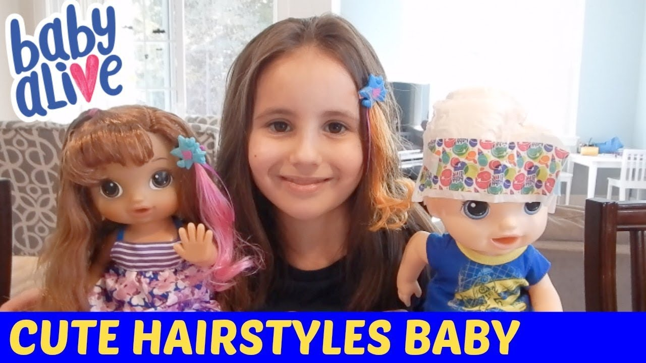 Baby Alive Cute Hairstyles Baby (Kohls Exclusive ...