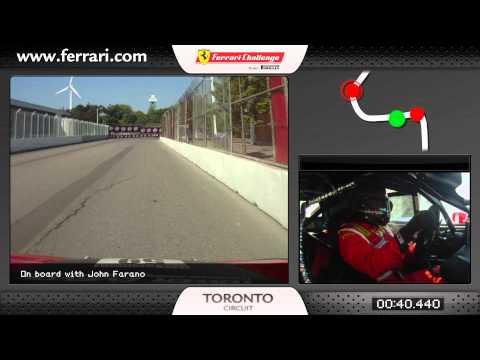 Autosital - Ferrari Challenge Trofeo Pirelli, tour embarqué à Toronto