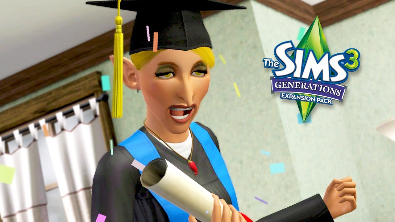 GERTY'S GRADUATION // The Sims 3: Generations #34
