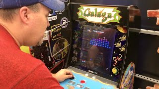 My Silly Review Of Galaga Arcade 1UP Machine In Walmart