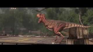 Primal Carnage: Extinction   (Люди против динозавров) ТРЕЙЛЕР