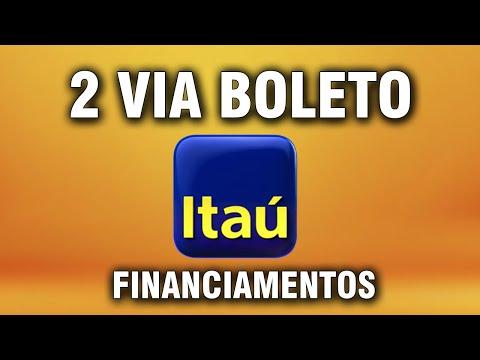 2 Via Boleto Itau Financiamentos Youtube