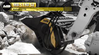 mb l140 crushing reinforced non reinforced concrete