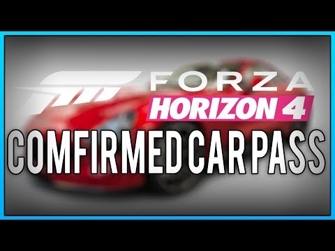 Forza Horizon 4  - Update 6 Car Pass Cars list + gameplay thumbnail