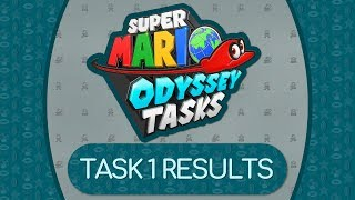 TASK 1 RESULTS | Super Mario Odyssey Tasks Season 3 [Twitch VOD]