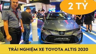 Trải nghiệm xe Toyota Corolla Altis 2020