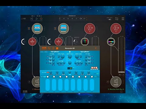 Mononoke - Expressive Drone Synthesizer By Bram Bos - IPad Live Tutorial