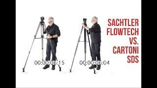 Sachtler Flowtech FSB6 vs. Cartoni SDS 8 Tripod Wars: Are You Darth Vader or C3PO?