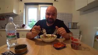 Дневник диетчика -День 12 -Обед(тунец+салат из овощей)