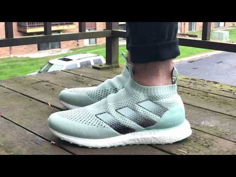 4a5c41fbd Adidas Ace 16 Purecontrol Ultra Boost On Feet