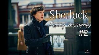 Sherlock┃Шерлок┃Смешные моменты#2