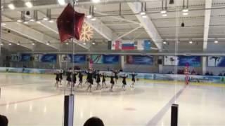 Первая команда по синхронному фигурному катанию в Ижевске
