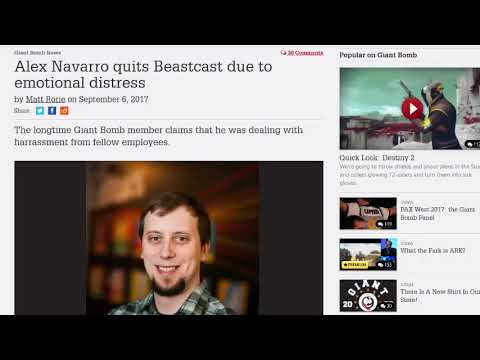Giant Beastcast 120 highlight - Alex Navarro impressions, Nier