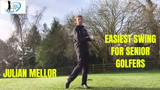 Easiest golf swing for senior golfers , simple steps
