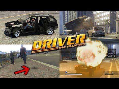 Driver San Francisco NEW MODS!  Infinite Mass, Explosive Horn & More!