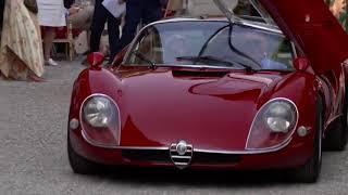 2018 Villa d'Este : 1968 Alfa Romeo 33 Stradale 33 75033*110 wins the Coppa d'Oro (public vote)!