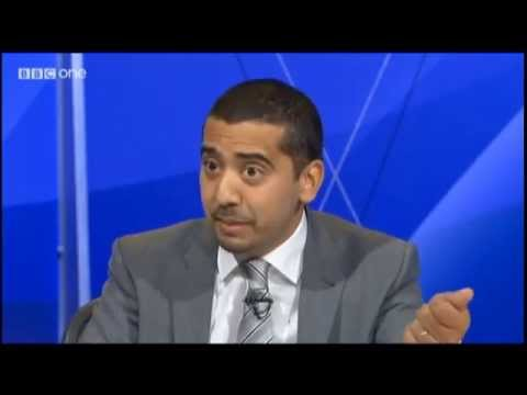Mehdi Hasan OWNING Quentin Letts on Question Time 03/10/2013