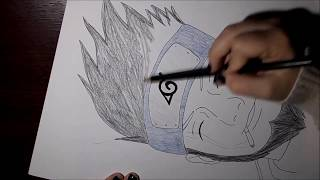 Speed Drawing Asuma Sarutobi (Naruto)