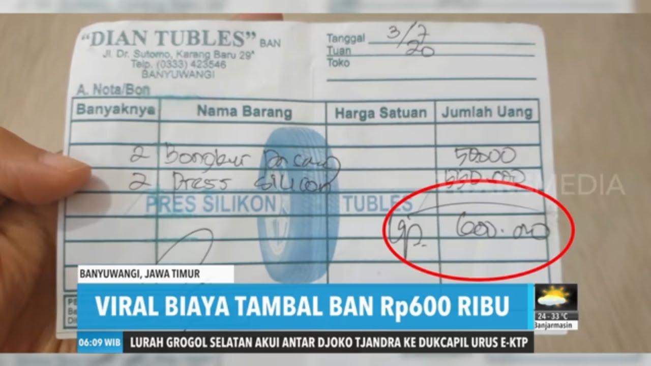 Viral Tambal Ban 600 Ribu | REDAKSI PAGI (07/07/20)