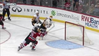 gotta see it fleury dives and swats puck midair for save of the year