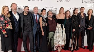 Hera Hilmar, Robert Sheehan, Stephen Lang & more | Mortal Engines World Premiere