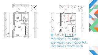 Építészeti BIM Tanfolyam 5. Rész: Méretezés, feliratok, szerkezeti csomópontok, stb